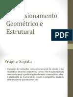 Fundações rasas - dimensionamento geométrico e estrutural