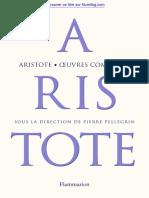 Aristote Oeuvre Complete