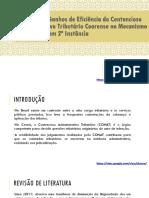 Análise Dos Ganhos de Eficiência Do Contencioso Administrativo (17 10 2017)