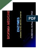 Microsoft PowerPoint - enzyme, BIOKIMIA MEDICINE
