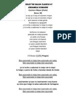 LETRA - MEDLEY DE SALSA CLASICA#1