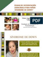 ESTRATEGIAS DE INTERVENCIÓN FONOAUDIOLÓGICA PARA NIÑOS CON X