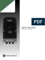 Manual de Usuario Drive Tech Pro