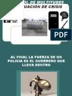 CONTROL DE MULTITUDES EN SITUACIÓN DE CRISIS