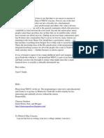 SaveWRVU letters