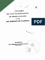 Proclama valencianos