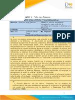 Ficha Resúmen 16-01 lsta