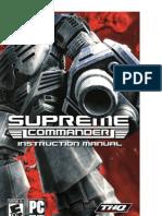 Supreme Commander manual