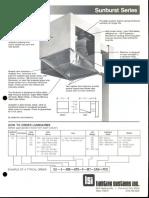 LSI Sunburst Series Spec Sheet 1985