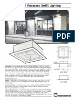 LSI Pinehurst Recessed Soffit Series Spec Sheet 11-84