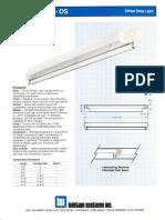 LSI Oasis Series Fluorescent Spec Sheet 1987