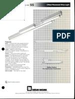 LSI Sliding Series Fluorescent Spec Sheet 1990