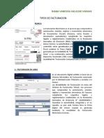 TIPOS DE FACTURACION