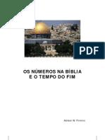 OS NÚMEROS NA BÍBLIA E O TEMPO DO FIM