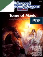 Tome of Magic (TSR2121)