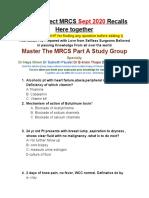Sept 2020 MRCS Recalls