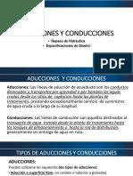 Clase 05 Aducciones y Conducciones