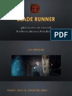 Blade Runner - Qué significa ser humano - Rafael París Restrepo