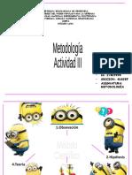 METODOLOGÃ A 3. YULEIDY MUJICA
