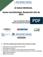 NUEVA NORMATIVIDAD RESOLUCION 631 DE 2015