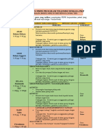 JADUAL PDPR  PROGRAM TRANSISI TAHUN 1 2021 FASA 2