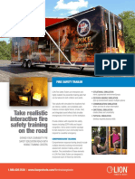 LION Fire Safety Trailer Overview Sheet
