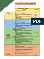 JADUAL PDPR PROGRAM TRANSISI FASA 3