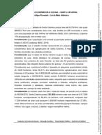 Impactos Econômicos e Sociais - Mata Seca - SC