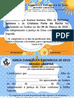 Certificado de Apresentação