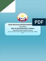 Guia Evaluación Diagnóstica EPT Secundaria