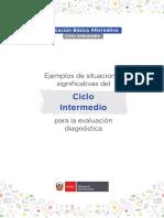 Fascículo de Evaluación Diagnostica CicloIntermedio EBA 10-03-2021