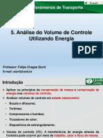 Aula 05 - Análise Do Volume de Controle Utilizando Energia
