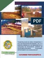 4.1. Informe Topográfico. Patacancha