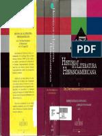 HISTORIA DE  LA LITERATRA HISPANOAMERICANA