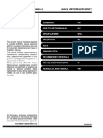Forester 2001 Service Manual