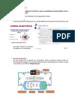 Fundamentos de la electricidad APLICACIÓN CAPÍTULO I