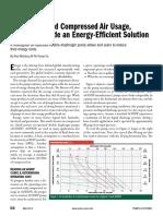 AODD pumps provide an energy efficient solution