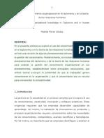 Gestión Del Conocimiento Organizacional en El Taylorismo y en La Teoría de Las Relaciones Humanas