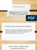 La communication efficace developpement personnel