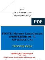 TS1 Teontologia