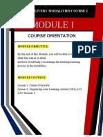 Ldm Module 1 Course Orientation