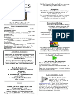 9-Lines Newsletter - March 3, 2011