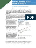 Perspectives économiques mondiales FMI Banque mondiale Janvier 2021