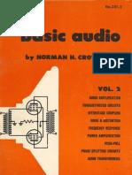 Basic Audio, Norman Crowhurst 1959 V2