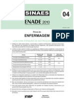 ENADE  2010 - ENFERMAGEM_gabarito_preliminar
