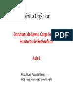 Aula2 Quimica Organica - Ressonância