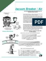 Vacuum Breaker Valves