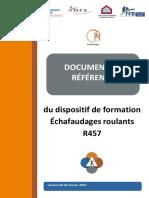 Document Reference Echafaudage Roulant