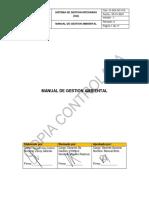 D-SGI-GC-012. Manual de Gestion Ambiental