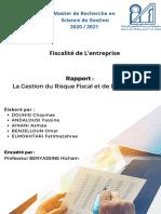 La Gestion Du Risque Fiscal Et l'Audit Fiscal (1)